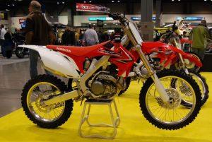 Honda CRF450R enduro 2009