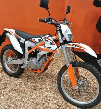 KTM enduro 350 naranja
